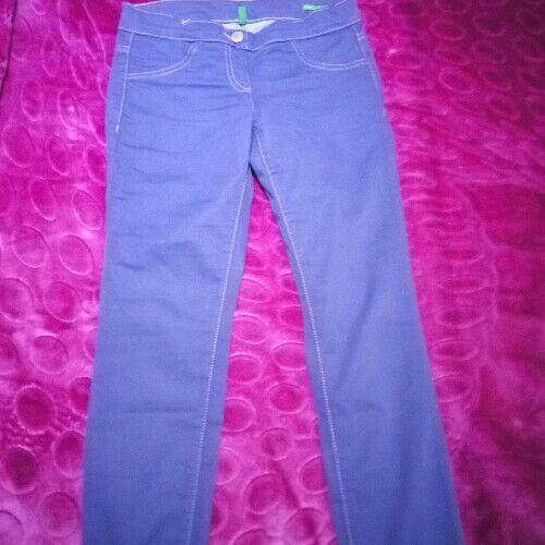 Pantalon violet de la marque benetton
