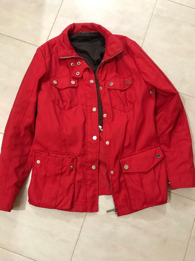 Veste Rouge Zara