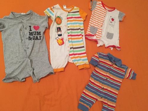 Lot de 8 pieces pour bebé 3 mois