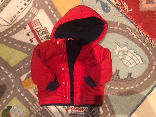 Manteau rouge Ladybird 18-24 mois