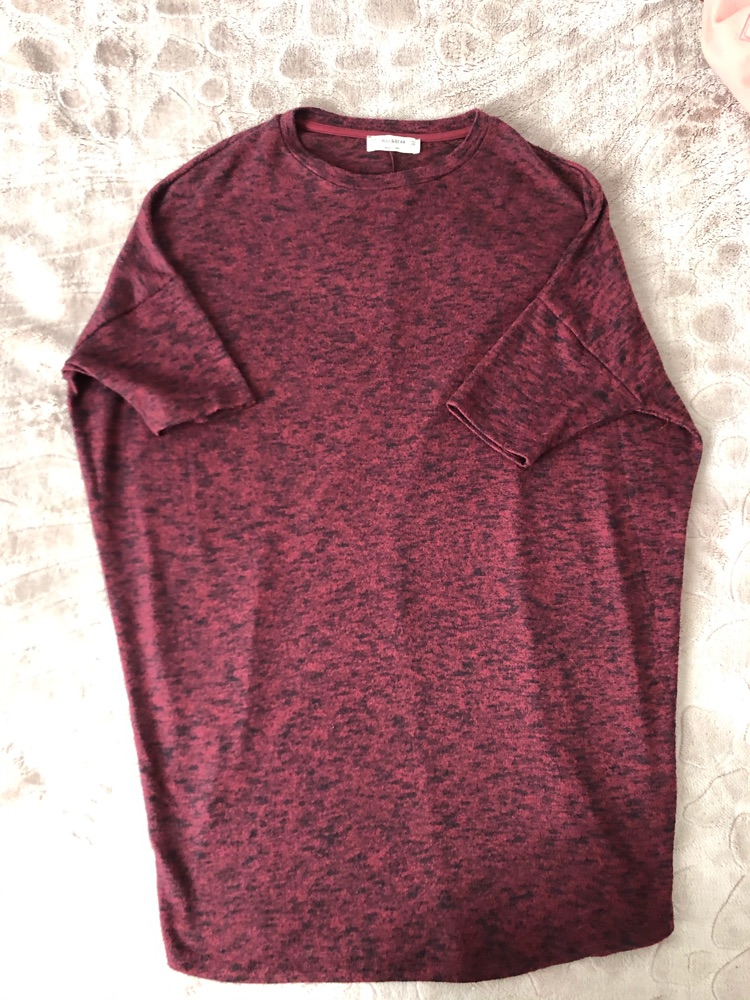 Robe pull en laine pull&bear