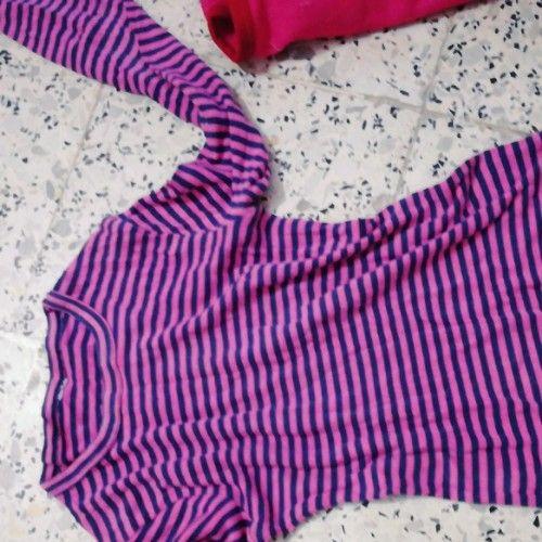Pull.en.cotton.avec pantalon en laine tres doice pour dormir