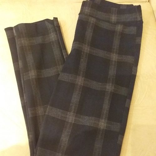 Pantalon carreaux en très bonne état taille 38