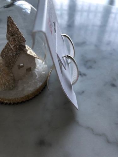 Boucles d'Oreilles Demi-Lune - CHAPS