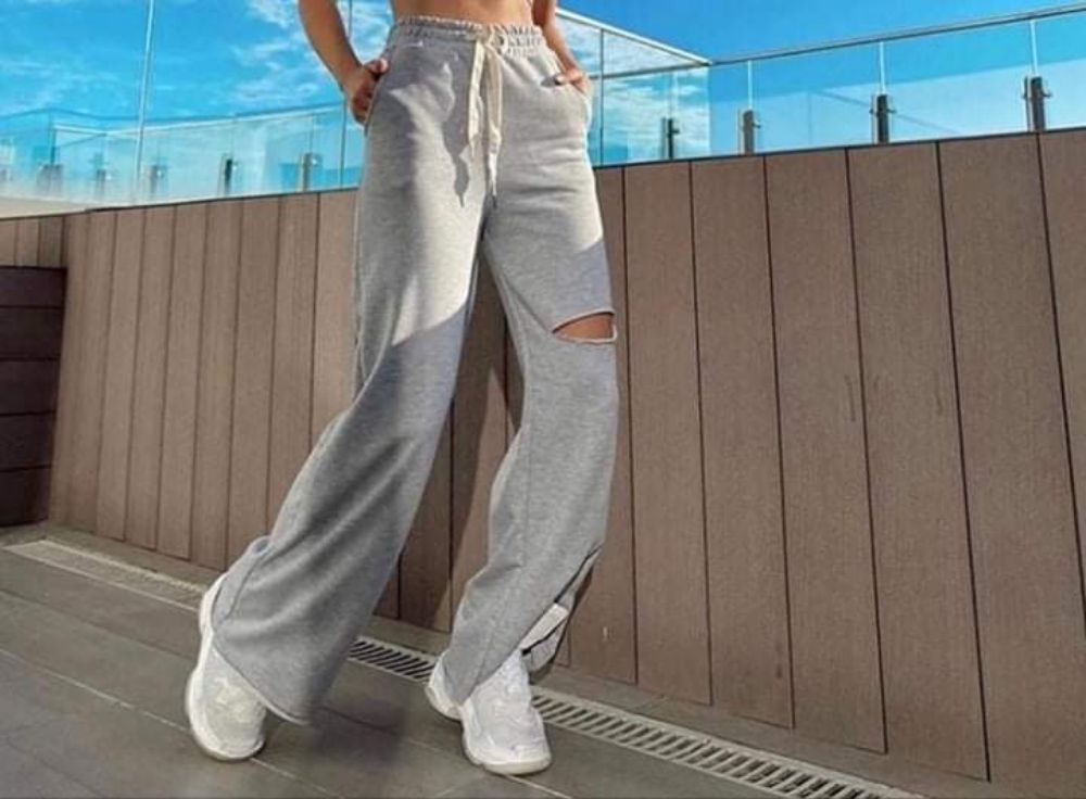 Pantalon jogging tendance