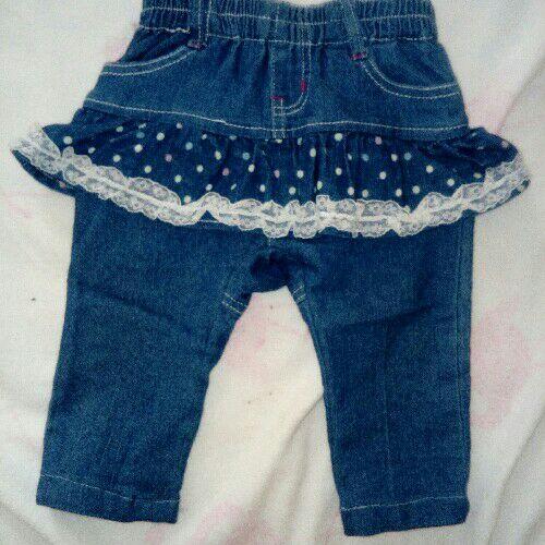 Pantalon bébé fille 12 mois