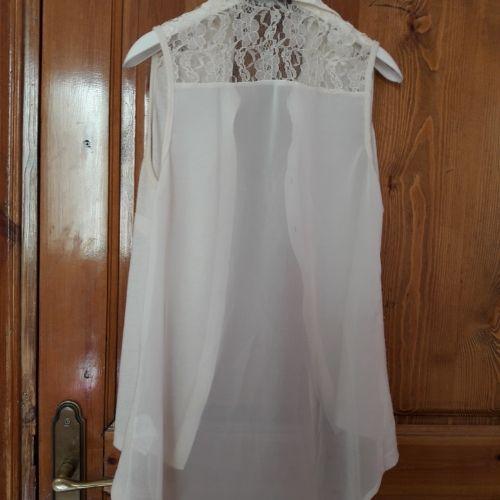 Chemise blanc cassé  primark taille 34 et 36