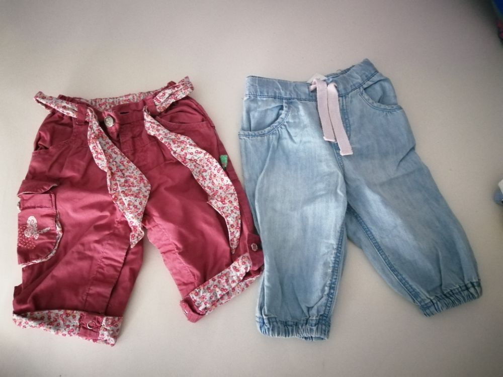 Lot de 2 pantalons bébé