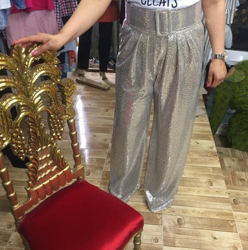 Pantalon large soiree