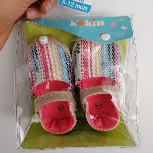 Chaussures bébé fille colorés neufs