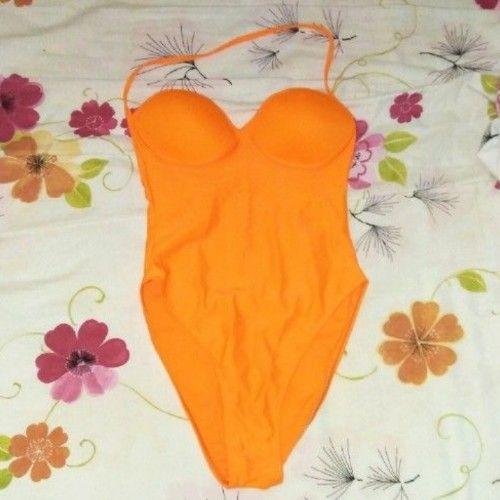 Maillot orange fushia (jamais porté)