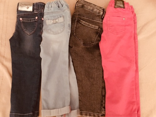 Lot de 4 tres tres beaux pantalon