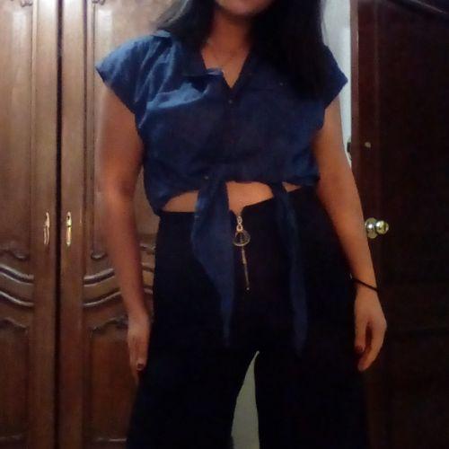 Pull chemise