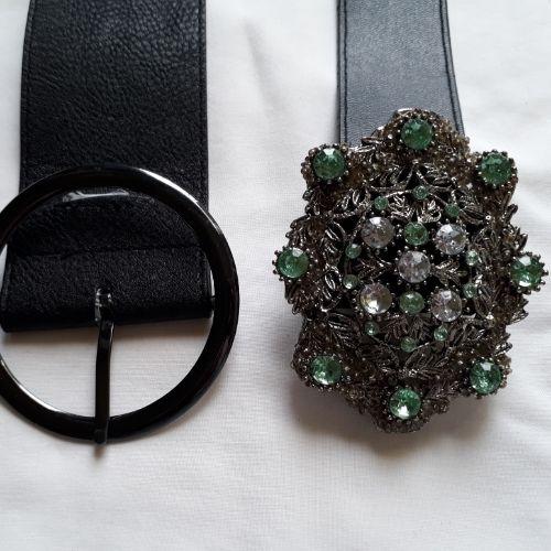 Lot 5 ceinture en vrai cuir