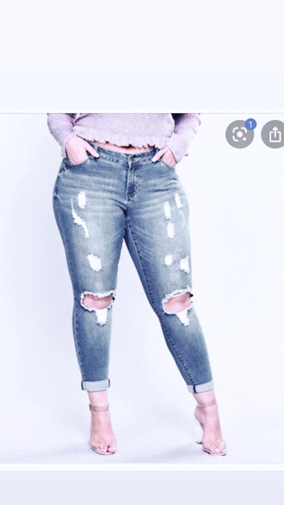 Jeans taille haute H&m