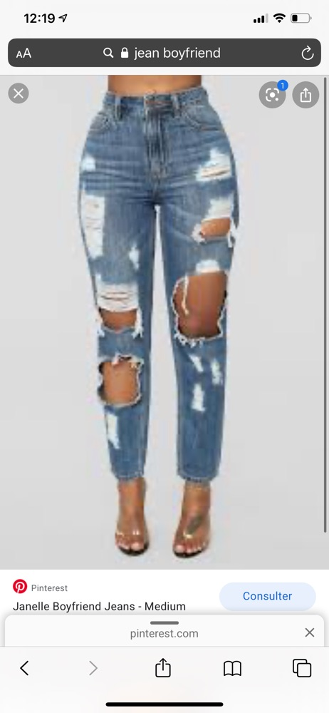 Jeans denim collection