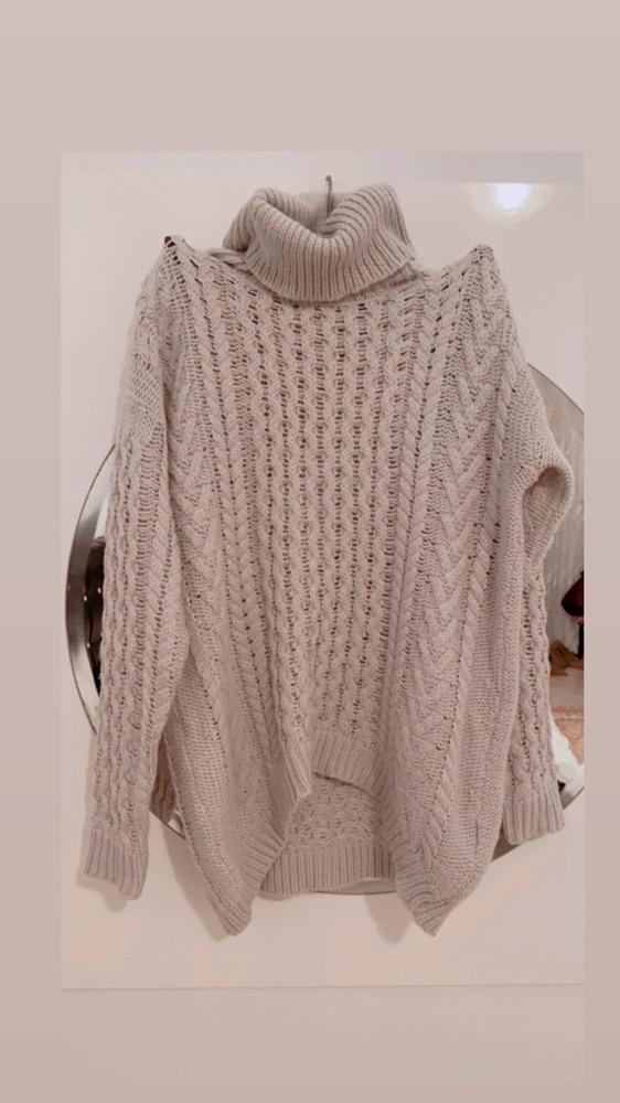 Total look d'hiver en vrai laine ton sur ton