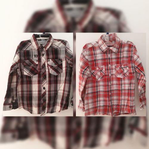 Lot de 2 Chemises à carreaux très stylées