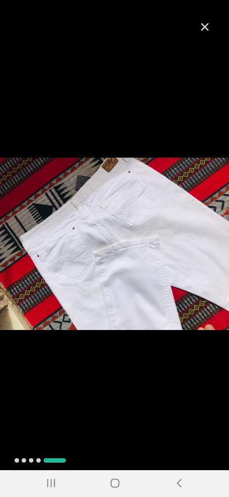 Jeans blanc Tommy hilfiger authentique