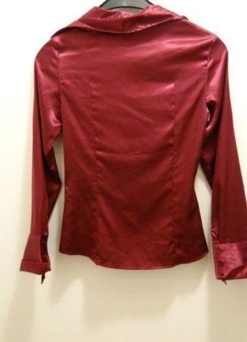 Chemise camaïeu couleur rouge framboise en excellent etat