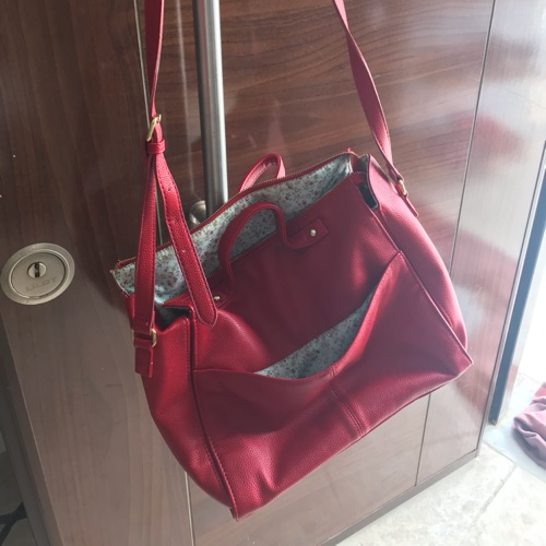 Sac rouge forever 21