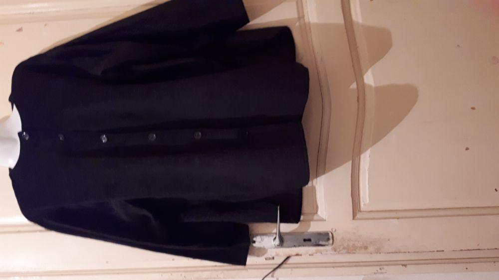 Chemise daim noir