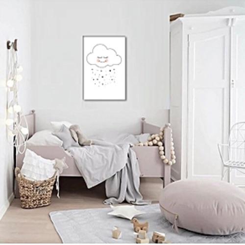 Happy Cloud : tableau décoratif