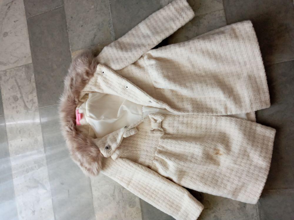 Manteau filles 3 ans importé