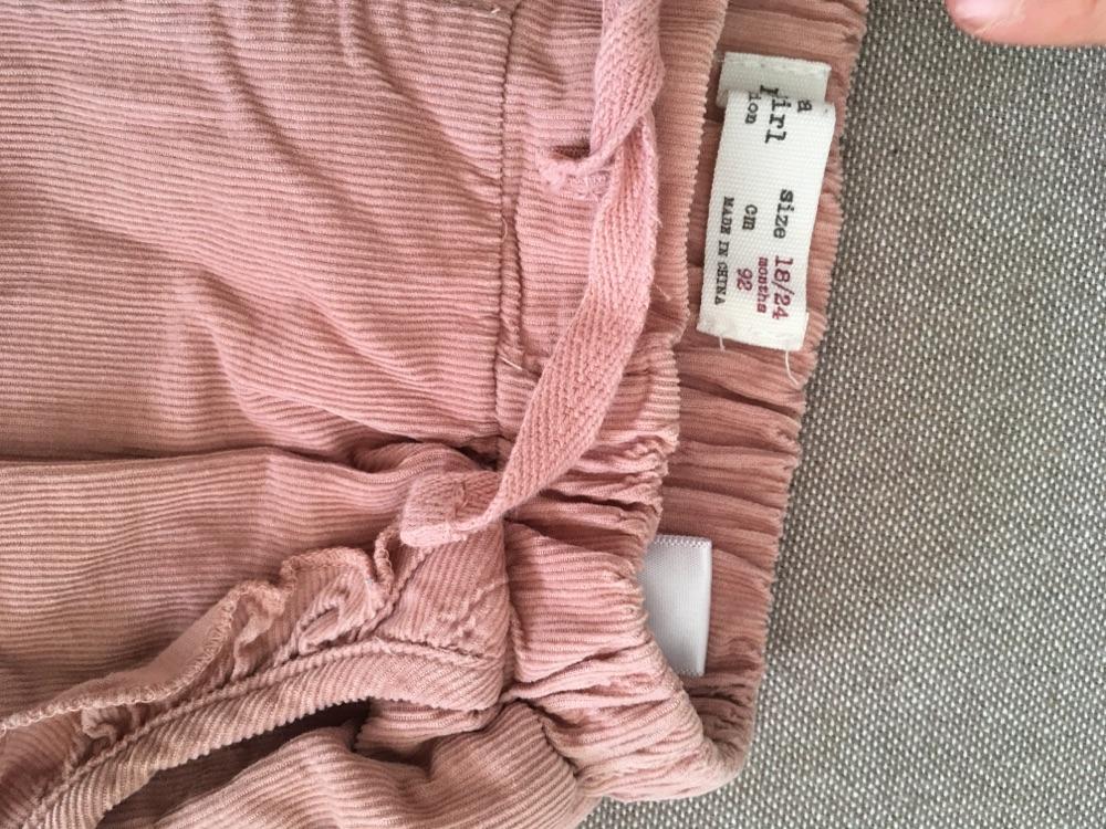 Pantalon zara fille 18-24 mois