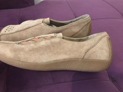 Chaussure en daim