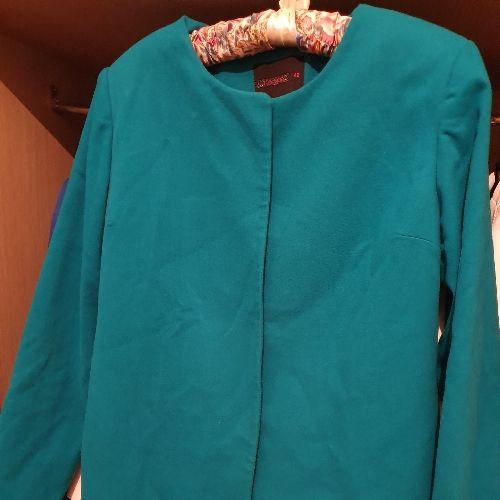 Manteau turquoise