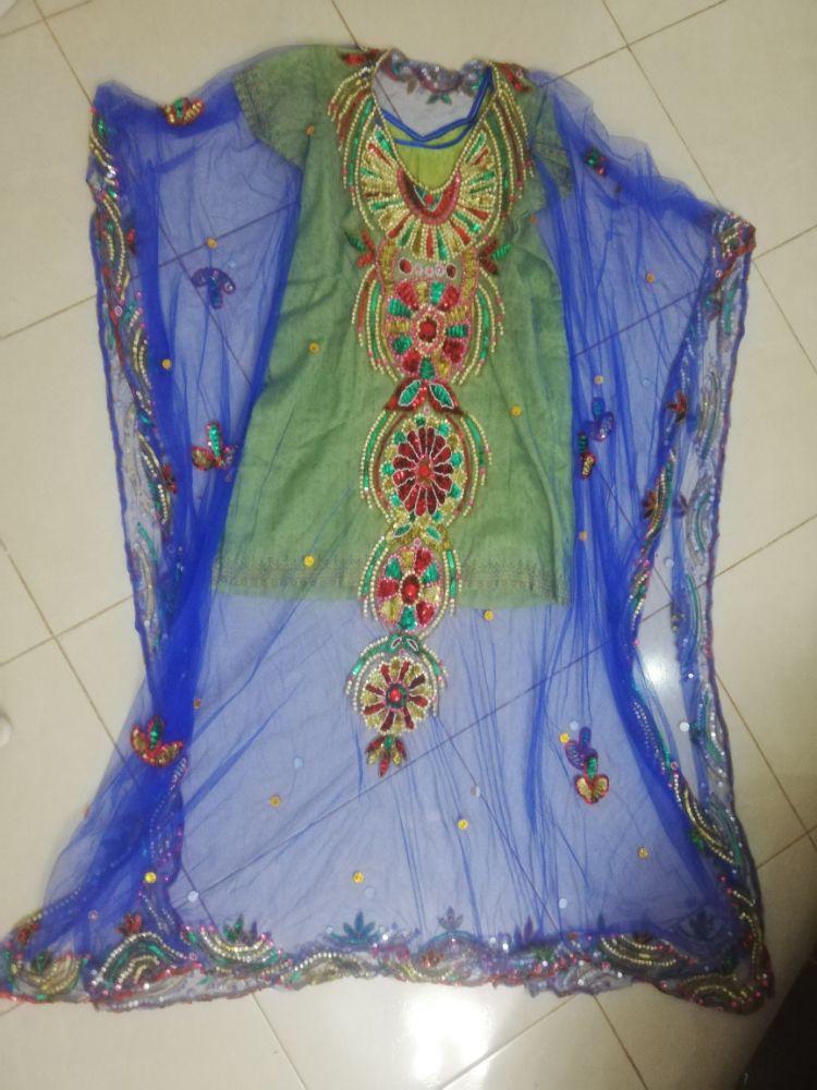 7robe soirée sari
