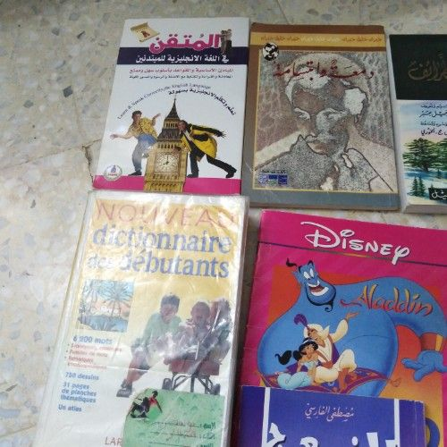 2 dictionaries et 4 histoire avec une petite histoire en français