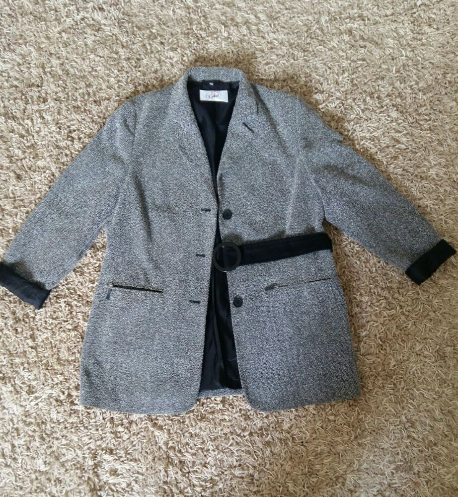 Blazer fashion gris