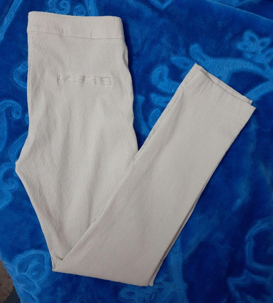 Pantalon / legging astiqué beige