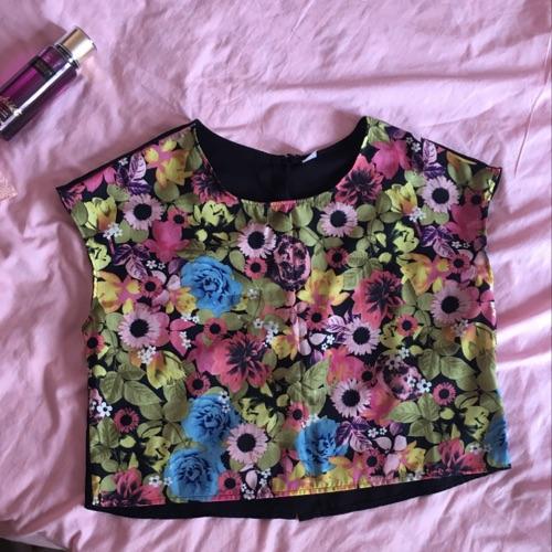 T-shirt HM fleurie