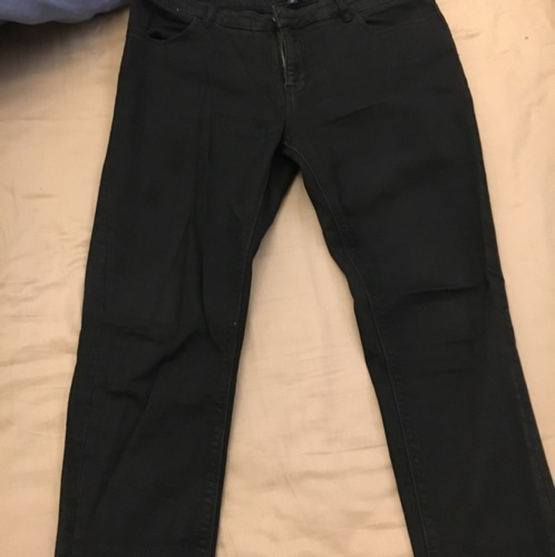 Jean noir kiabi slim fit