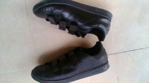 Basket noir adidas stan smith