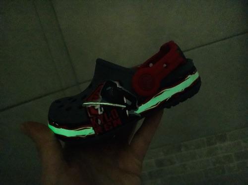 Crocs phosphorescent Star Wars