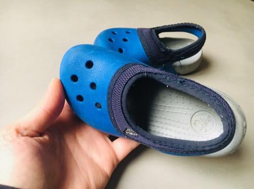 Crocs bebe garçon avec elastique