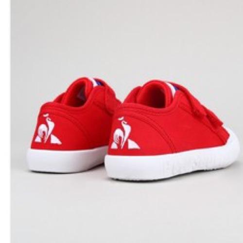 Le coq Sportif Baskets Rouges