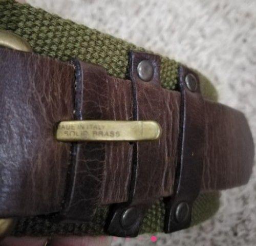 Ceinture de taille Donna karan authentique en cuir