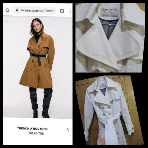 Trench coat zara porté une seule fois taille 36