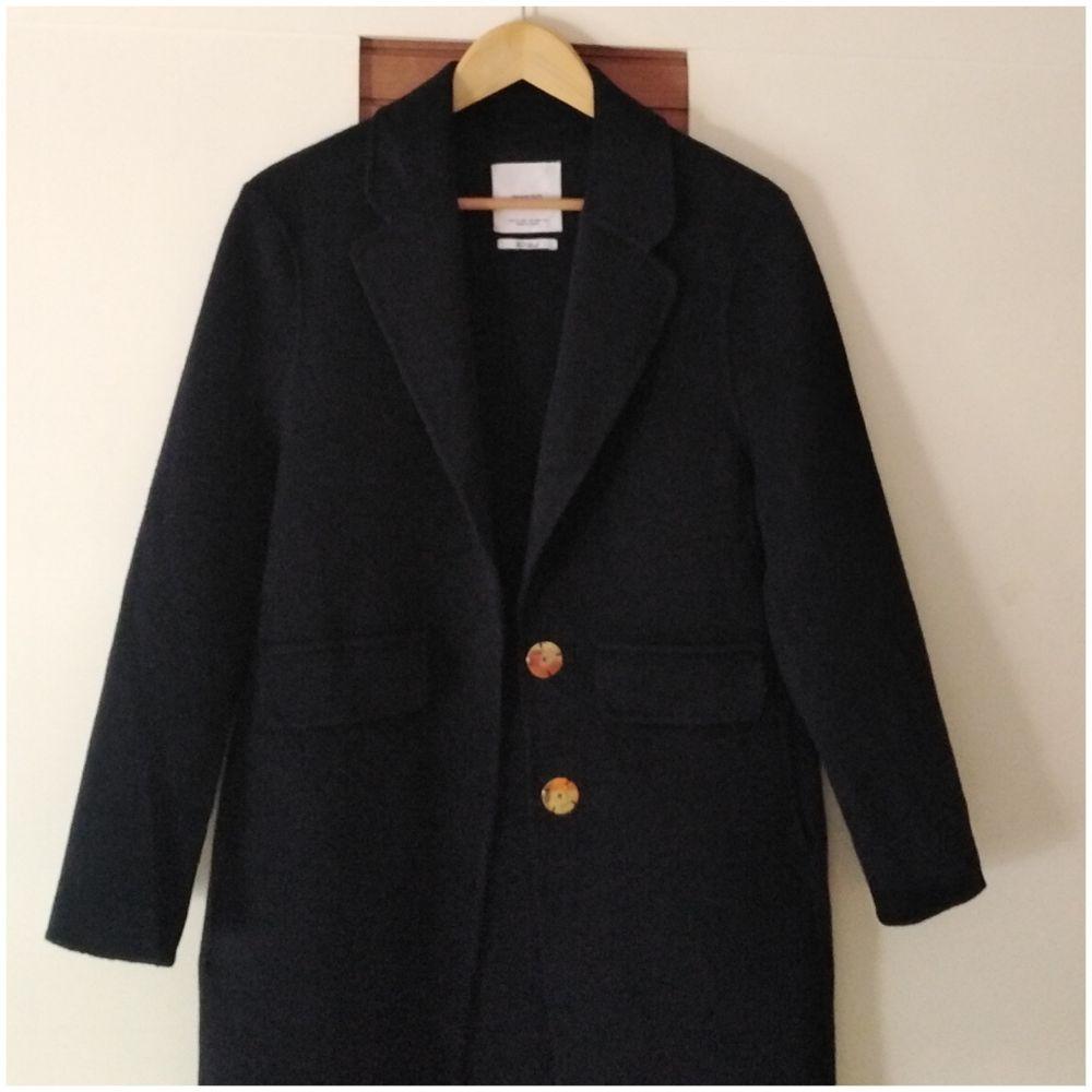 Magnifique manteau Mango en laine très chic