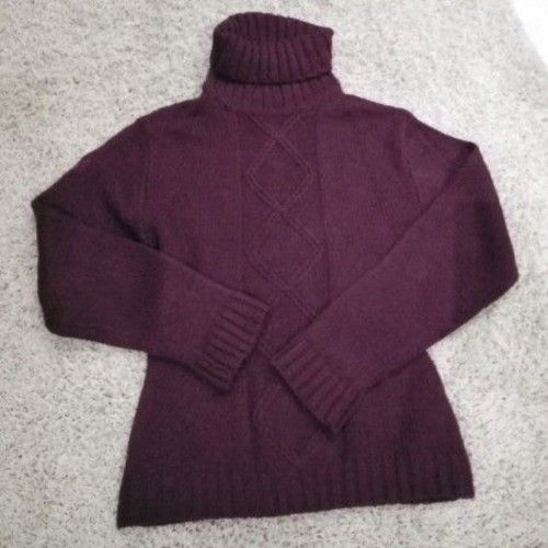 Pull aubergine très chic taille 38/40