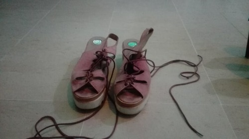Chaussures rose