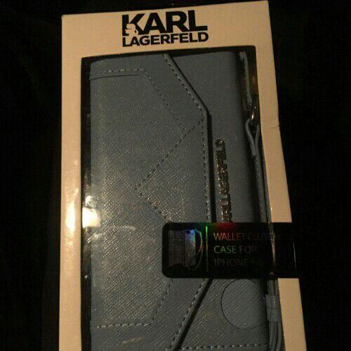 Coque Karl Lagerfeld bleu iphone 6