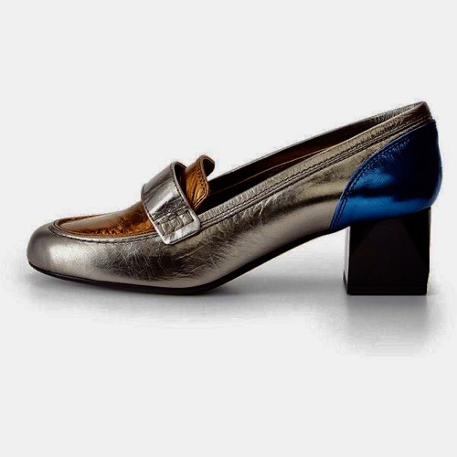 LANVIN METALLIC PUMPS