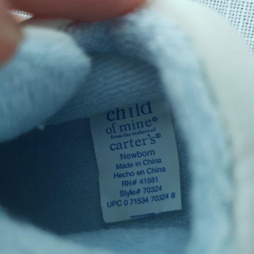 Chaussure nouveau née neuf