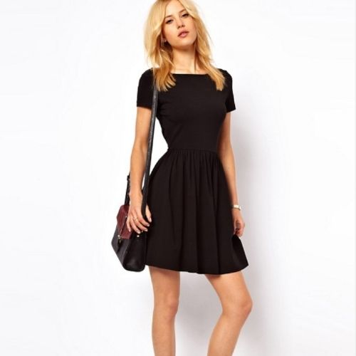 Robe Patineuse Noire